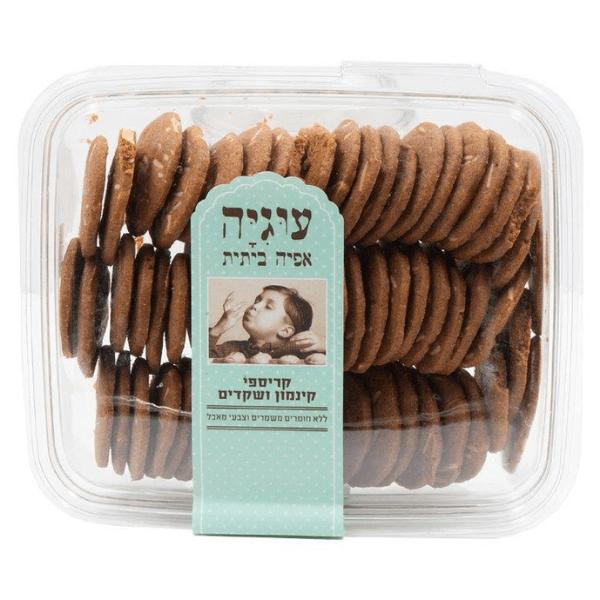 עוגיית קריספי קינמון ושקדים