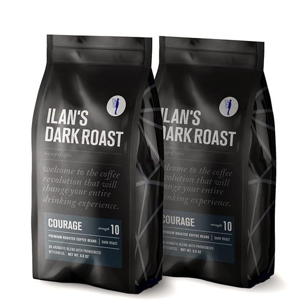 500 גרם פולי קפה בלאק טאי לקפה עוצמתי במיוחד