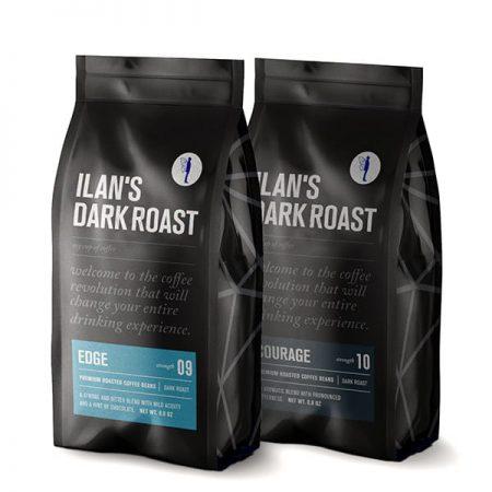500 גרם מארז טעימות קפה לחובבי מרירות מודגשת וטעם חזק
