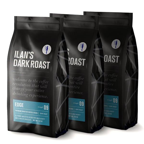 750 גרם פולי קפה נגרו אלגרו עם ארומות מודגשות