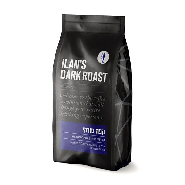 קפה שחור – הטורקי של אילנס
