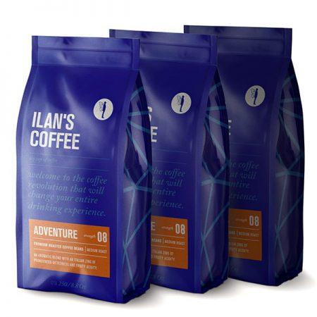 750 גרם פולי קפה רומא קפה איטלקי וחזק
