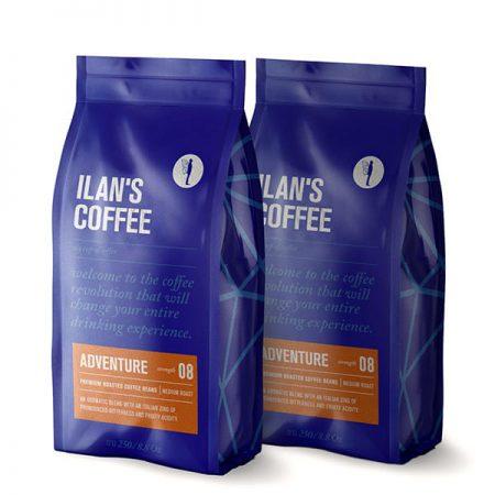 500 גרם פולי קפה רומא קפה איטלקי וחזק