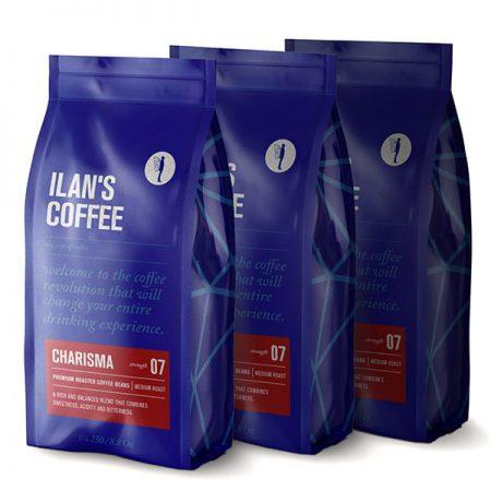 750 גרם פולי קפה תערובת הבית המסורתית של אילנס