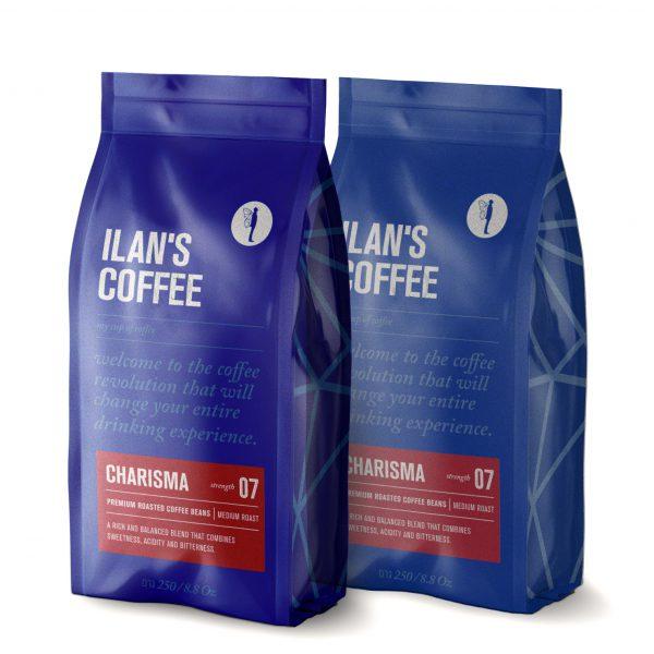 500 גרם פולי קפה תערובת הבית המסורתית של אילנס