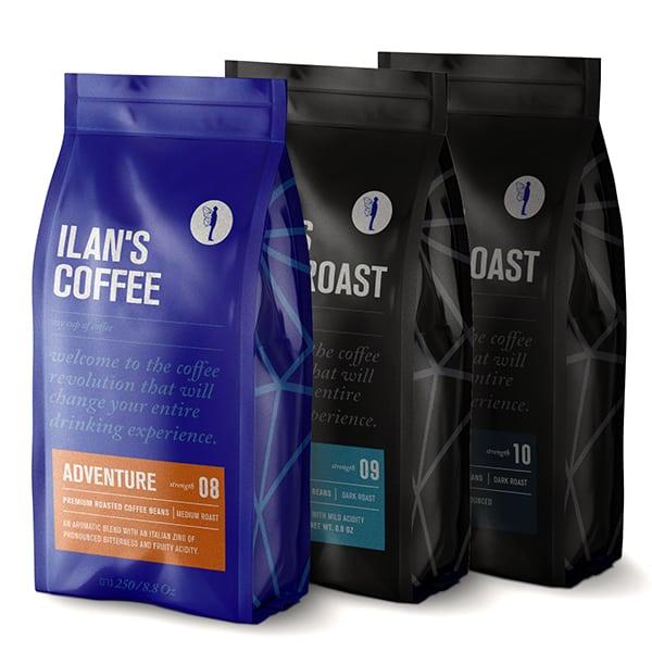 פולי קפה מארז טעימות חזק