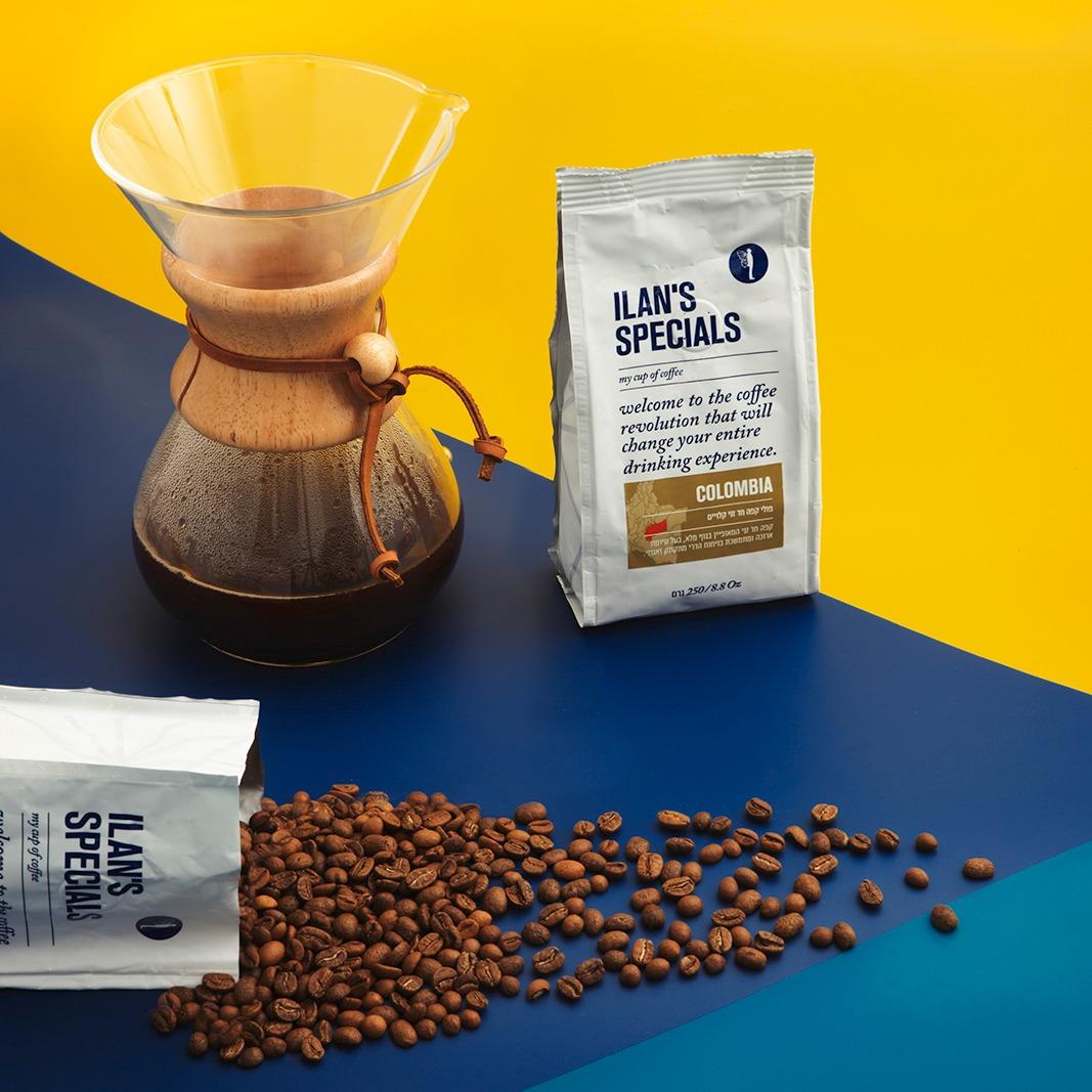 קפה אילנס פולי קפה משובחים